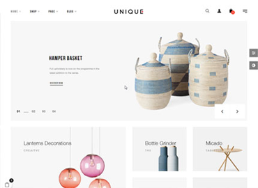 Unique - Furniture & Decoration Prestashop Theme