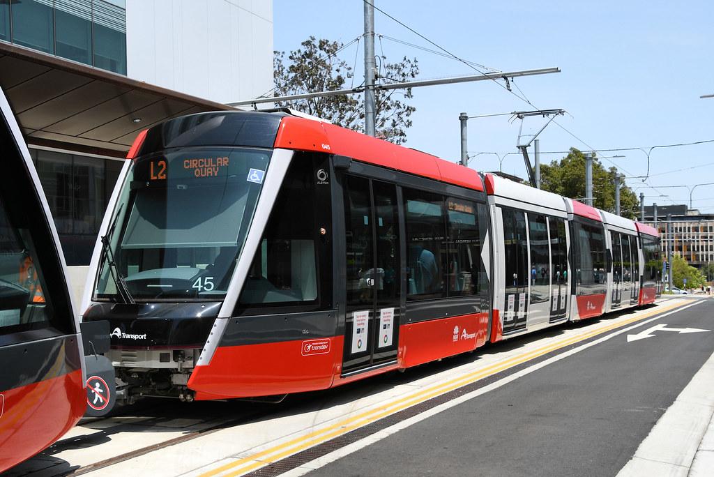 LRV 45, Randwick, Sydney, NSW.