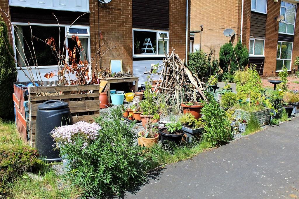 Garden at ground floor flat