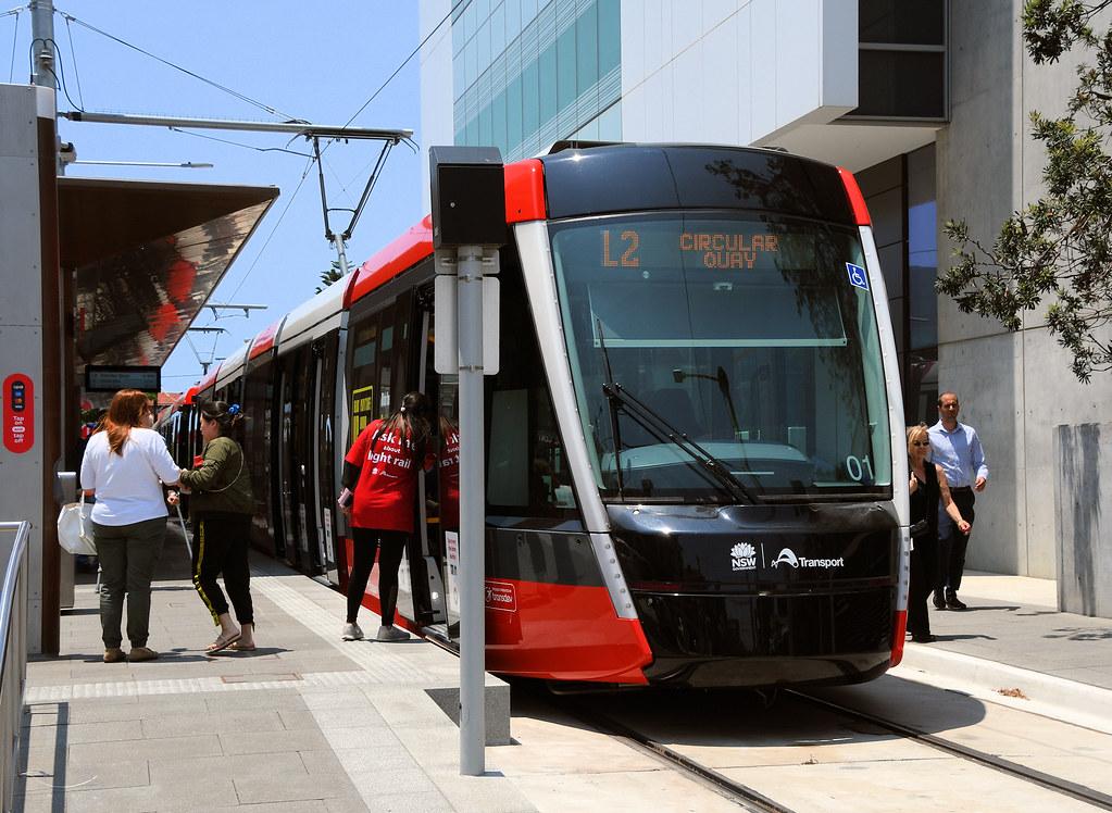 LRV 01, Randwick, Sydney, NSW.