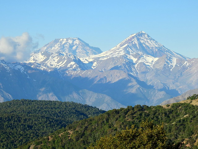 Volcanes Descabezado Grande y Azul