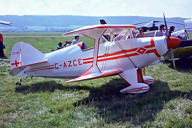 G-AZCE   Aerotek S-1S Special [PFA 1527] Weston-super-Mare~G @ 25/08/1975