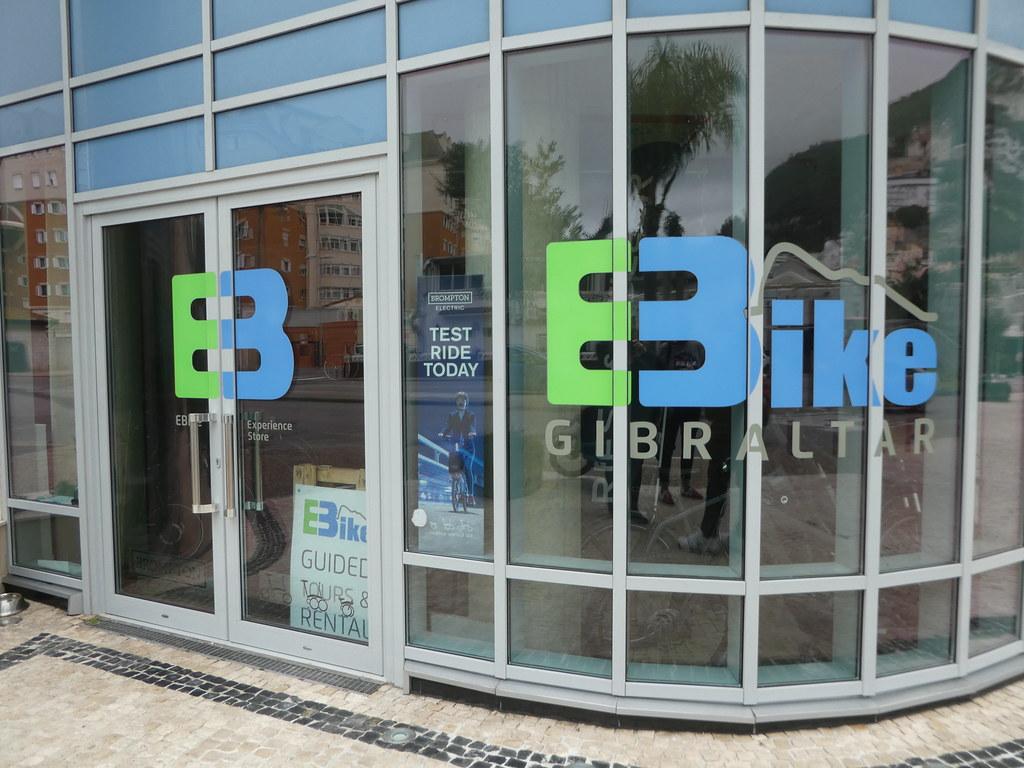 EBike Gibraltar shop and bike rental