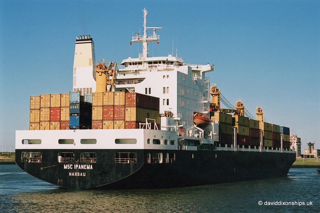Ship. MSC Ipanema 8124395