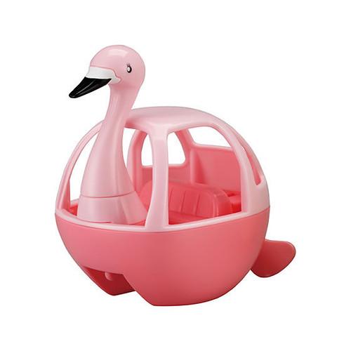 GASHAPON「EXCEED MODEL 天鵝船2」轉蛋 用橡皮筋旋轉讓家中浴缸變觀光勝地~