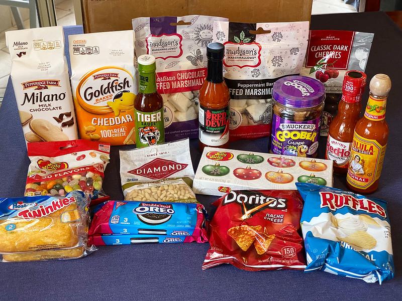 American food care package