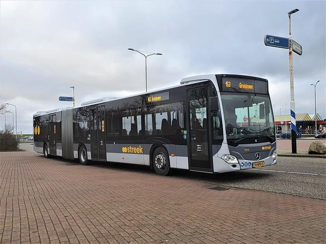 NLD Qbuzz 7514 70-BPD-5 2019 Mercedes-Benz O530GÜ Citaro 2021-01-04 Lauwersoog Veerhaven
