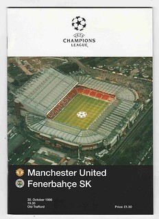 Manchester United Champions League Season 1996-7
