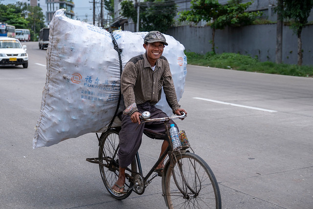 Cycle Courier Smile
