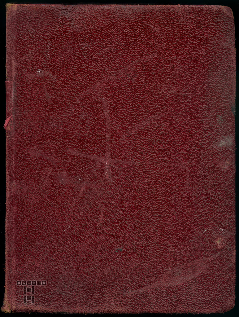 ArchivTappen2AAl2d285 Fotoalbum, Einband (front), 1900-1930er