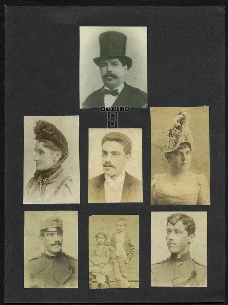 ArchivTappen2AAl2d287 Gesamtseite 1, Album 2d, 1900-1930er