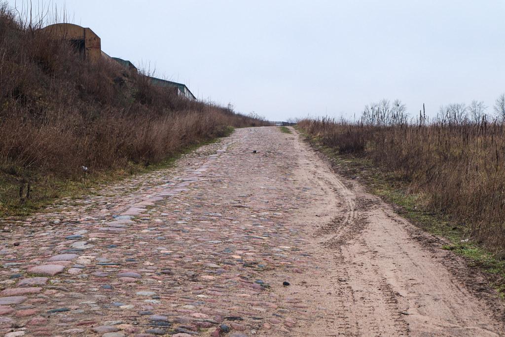 Брусчатка около д.Белогруда