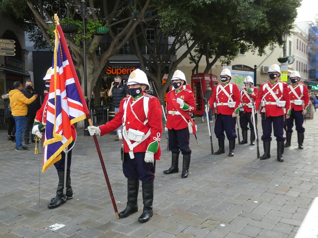 The Gibraltar Re-Enactment Parade