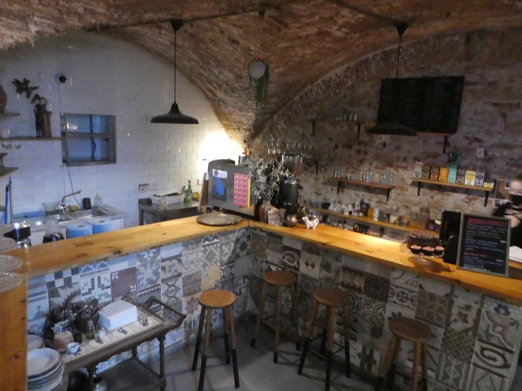 Inside The Kasbar Restaurant, Gibraltar