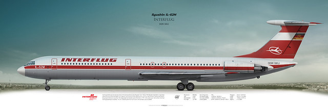 Ilyushin Il-62M Interflug