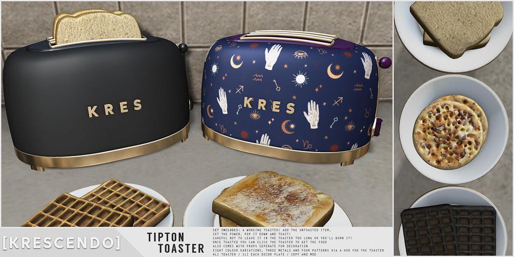 [Kres] Tipton Toaster