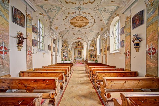 Rechtenstein, Filialkirche St. Georg