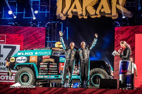 Dakar 2021 - Podium start