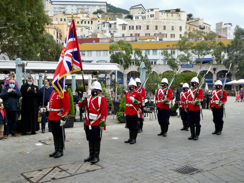 Re-enactment Ceremony, Gibraltar
