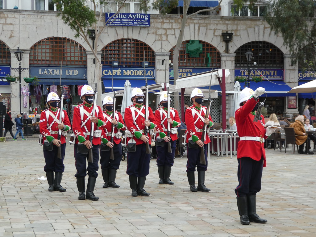 Re-enactment Ceremony of the Keys, Gibraltar