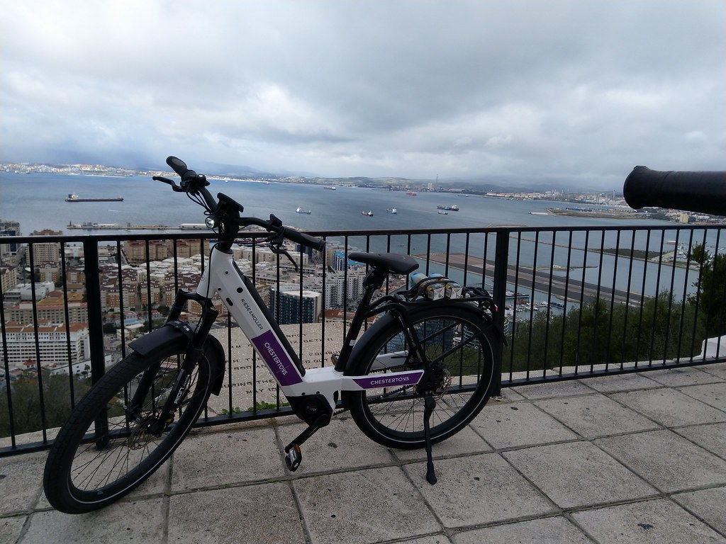 The Top of the Rock with EBike Gibraltar