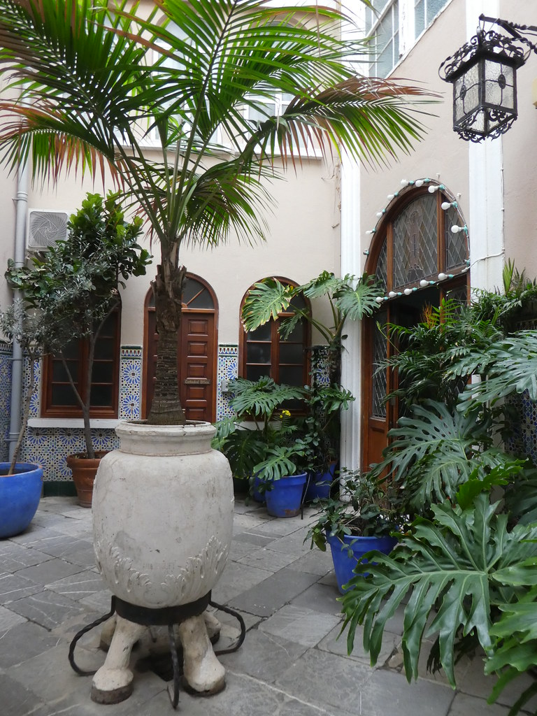 Courtyard of St. Mary the Crowned, Gibraltar