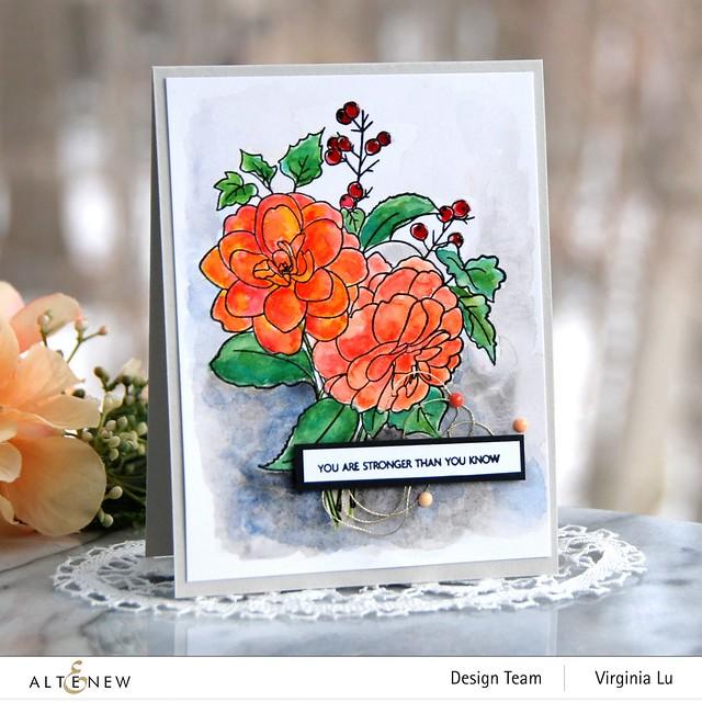 Altenew-PAF Camellia-Artist Watercolor 24 Pan Set
