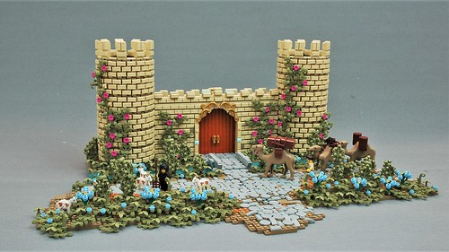Castle gate of Brik'neerd