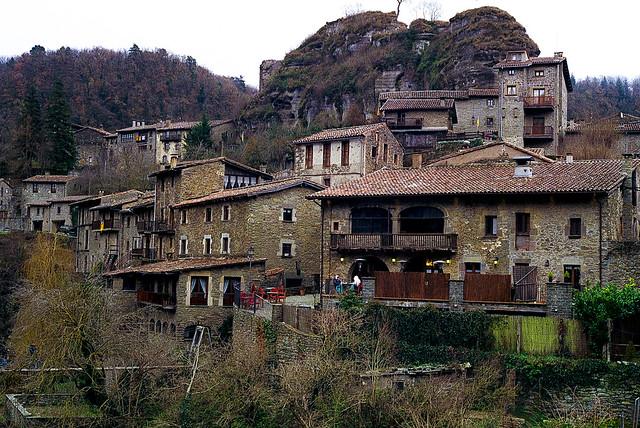 Pessebre gegant / Iconic village