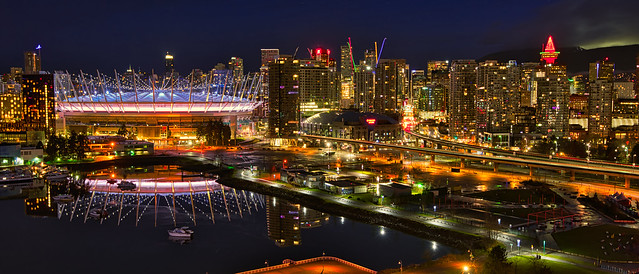 2020 - Vancouver - Darkness on East False Creek - 2 of 2