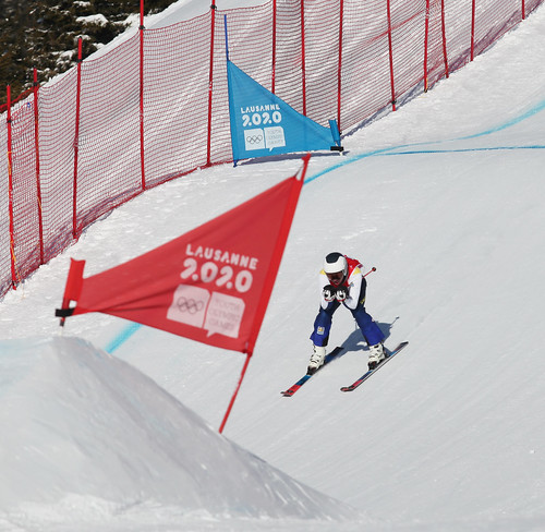 Lausanne 2020 Youth Olympic Games, Freestyle Ski Cross Event | by Kate_Lokteva