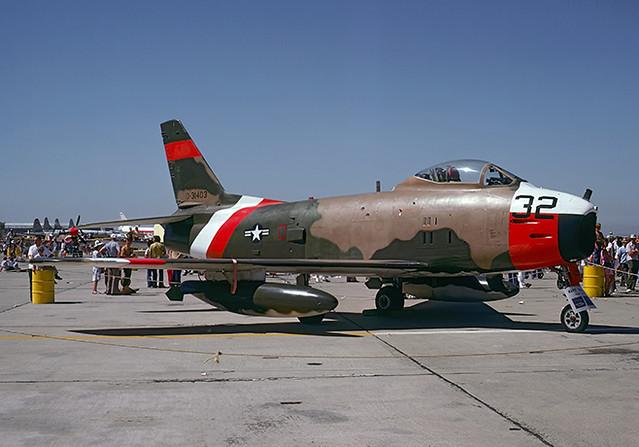 QF-86H Sabre 53-1403 of PMTC 31