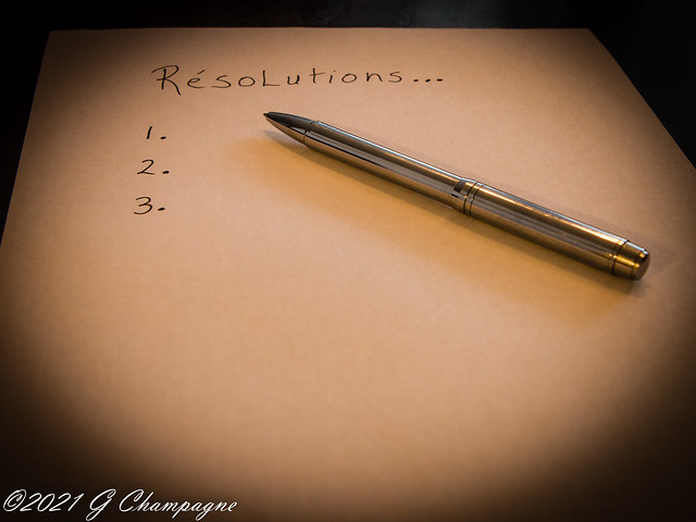 #1 Résolution du Nouvel An