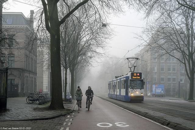 Amsterdam - GVB 829, 02-01-2021