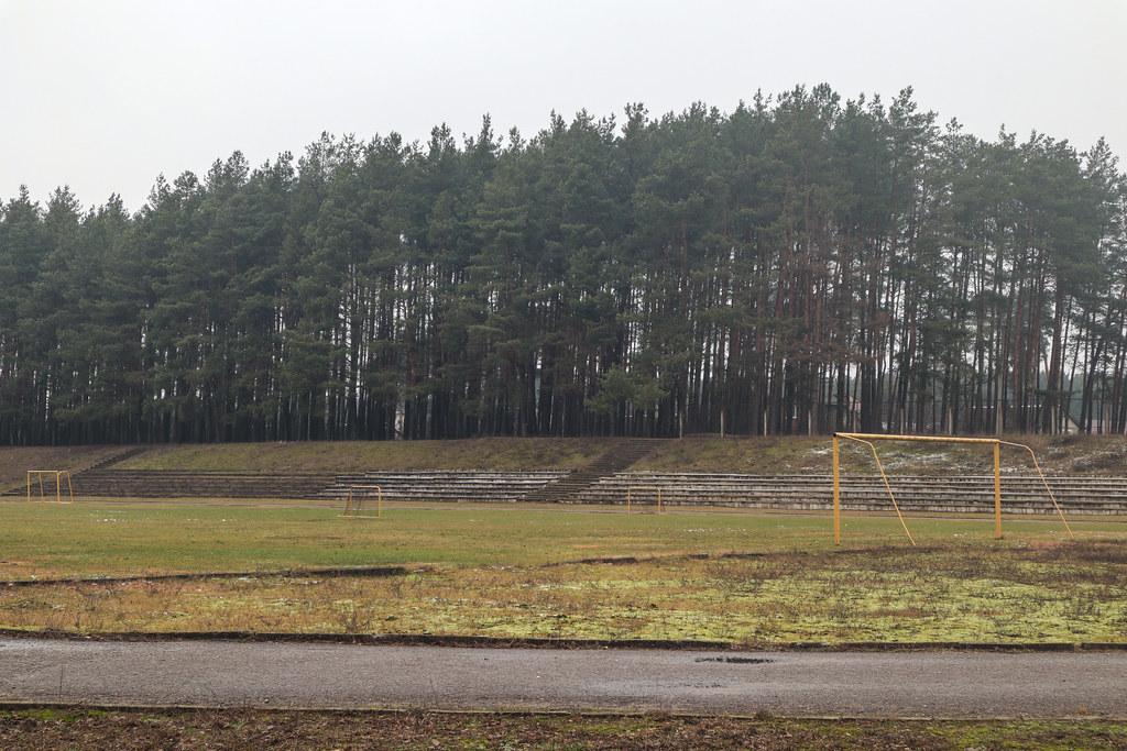 Стадион в г.п.Новоельня
