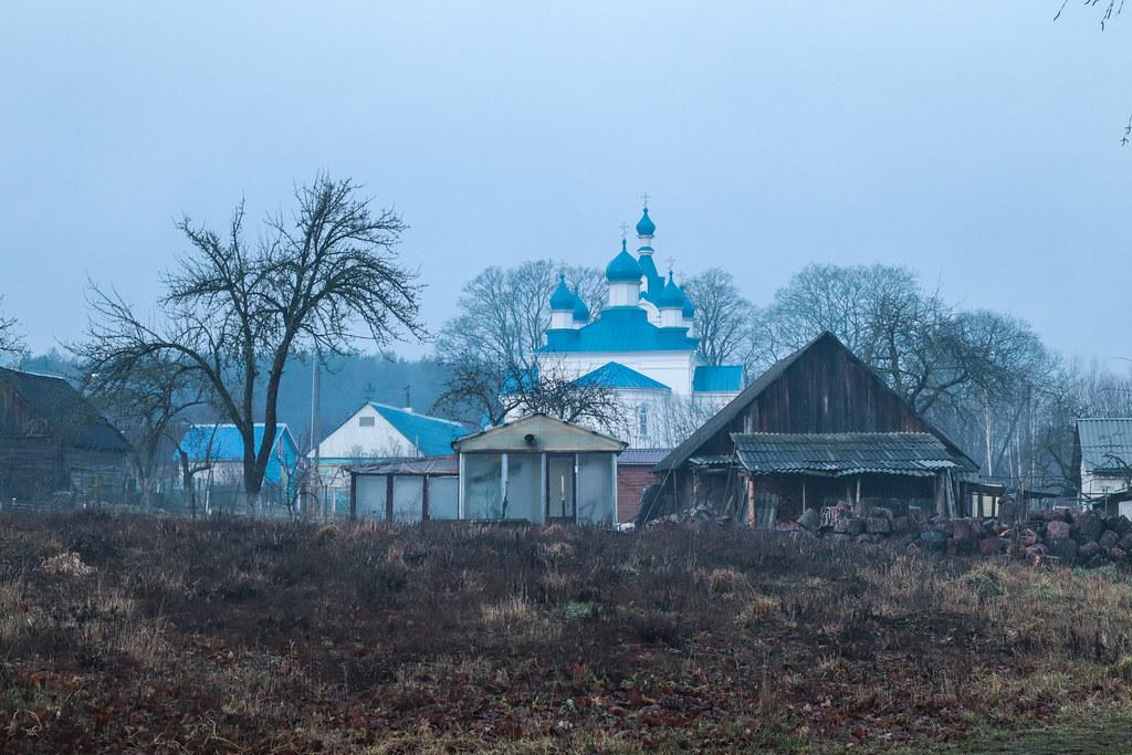 Церковь в д.Молчадь