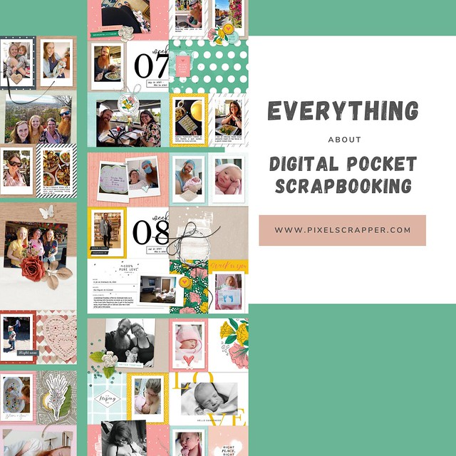 Everything About Digital Pocket Scrapbooking