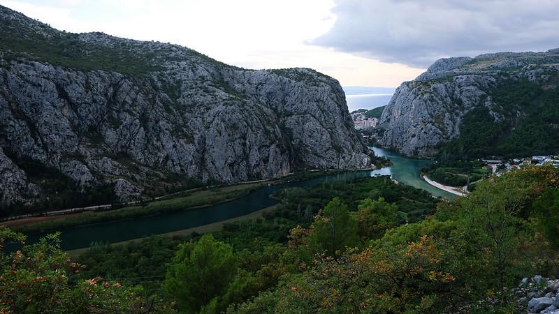 Cetina Canyon, Omiš, Croatia