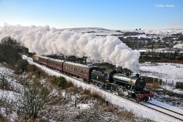 61994 (2) - East Lancashire Railway - 3 January 2010