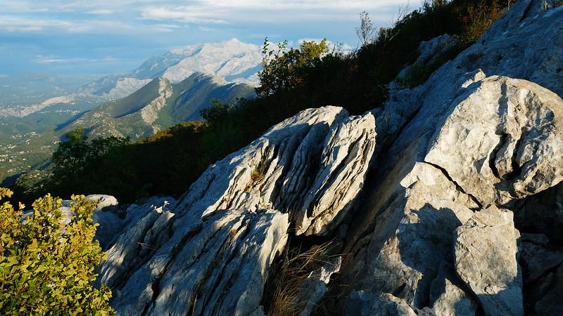 Hiking to Kula peak, Omiška Dinara, Croatia