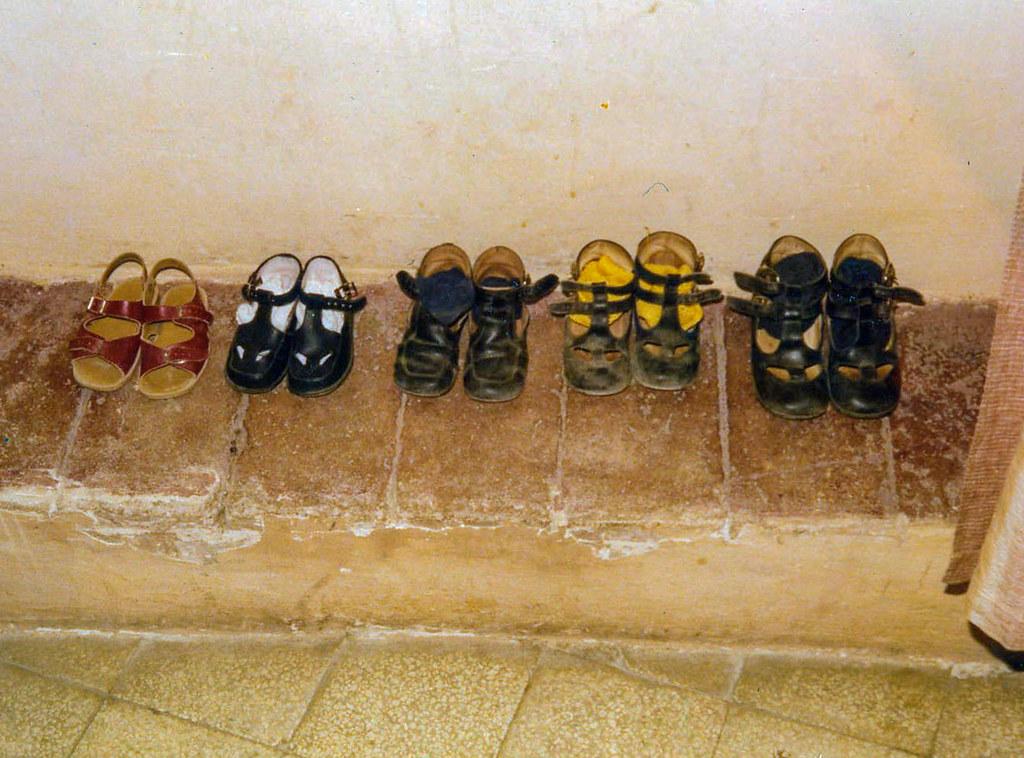 I sandali dei bimbi (estate 1974)