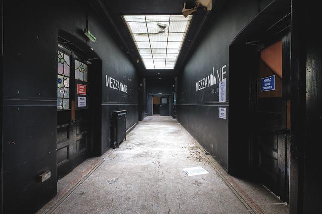 The dance hallway