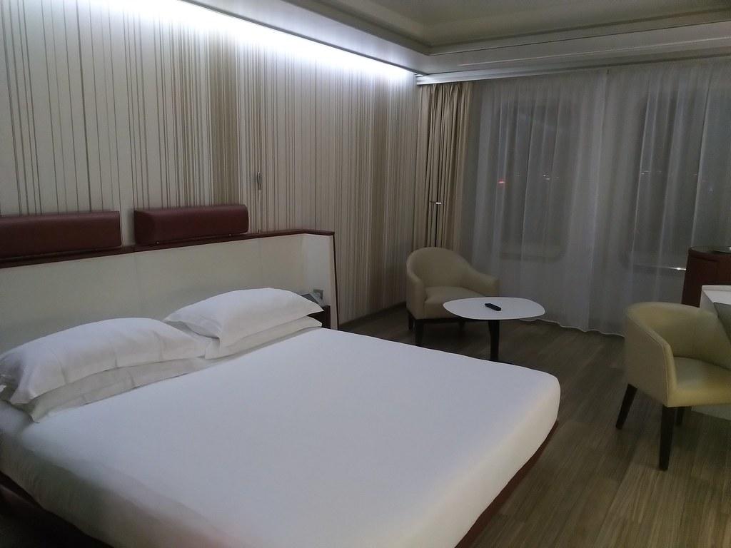 Room, Sunborn Yacht Hotel, GIbraltar