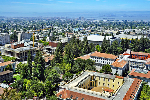 From the Campanile: Central Campus