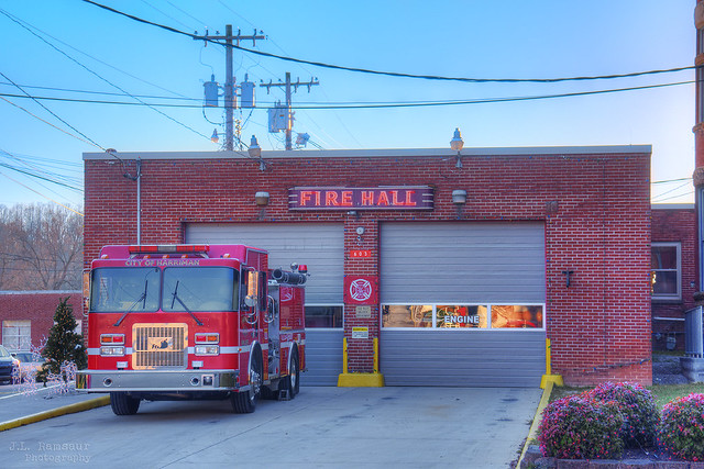 City of Harriman Fire Hall - Harriman, Tennessee