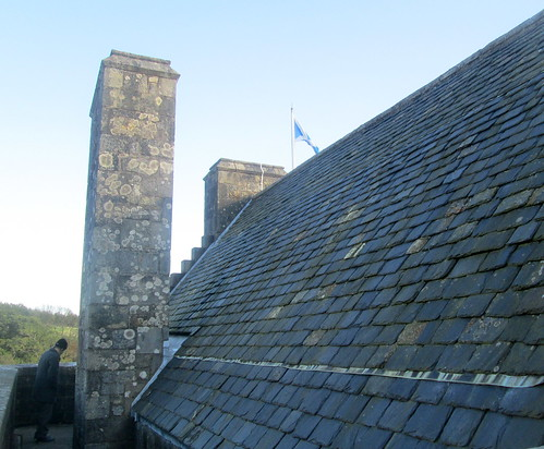 Part of Roof, Castle Campbell, Dollar