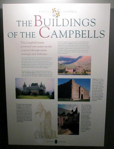 Castle Campbell Information Board