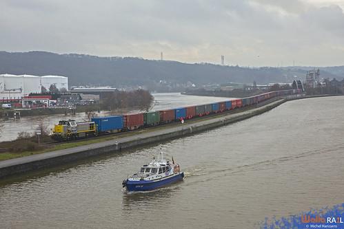 7737 . DB Cargo . Z 63410 .  Herstal . 29.12.20.