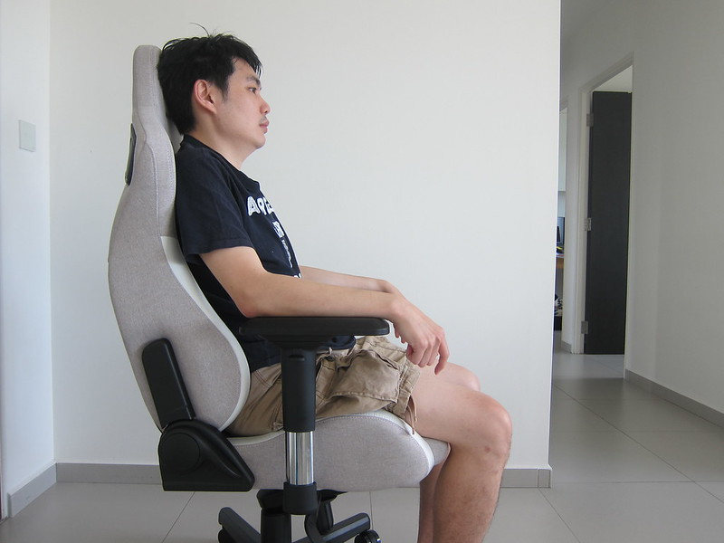 Martiangear Astronaut (Fabric) Gaming Chair - Leaning Back