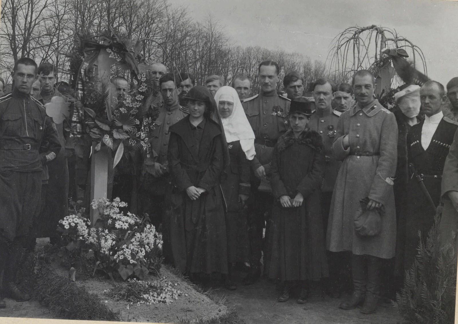 1918. Екатеринодар. Похороны генерала Корнилова